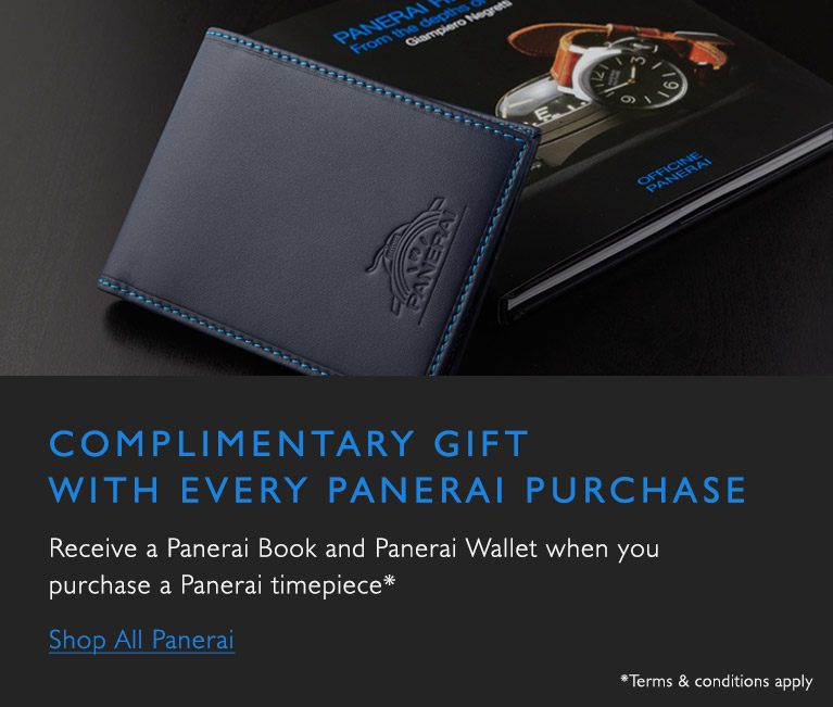 Panerai Gift With Purchase